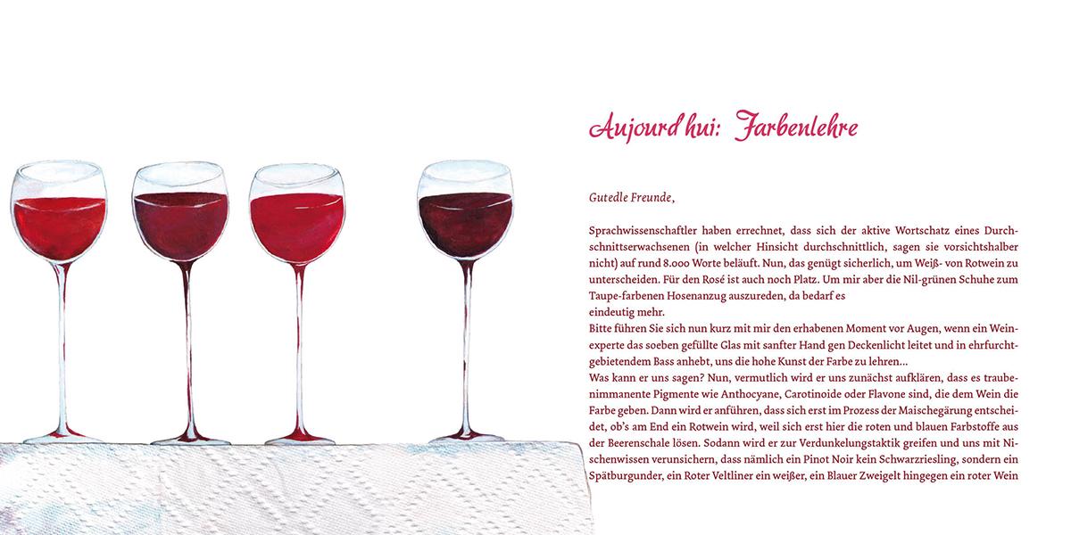 """Produktidee MINIbuch """"Kleine Weinkunde mit Beaujolette"""""""