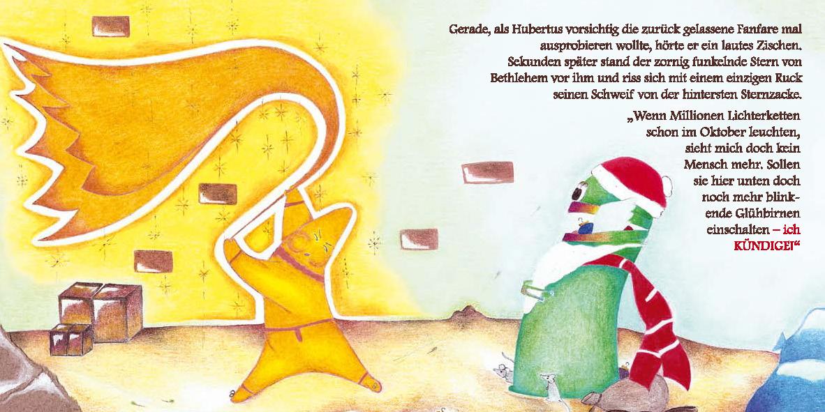 """MINIbuch """"Weihnachten mit Hubertus"""""""