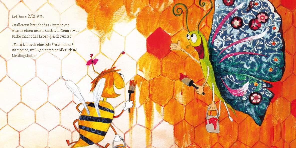 """MINIbuch """"Hab Spaß, kleine Biene Amelie"""""""