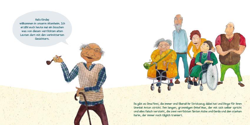 """Produktidee MINIbuch """"Oma und Opa sind die Besten"""""""